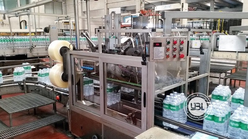 Used Complete PET Line for Water 18000 bph - 5