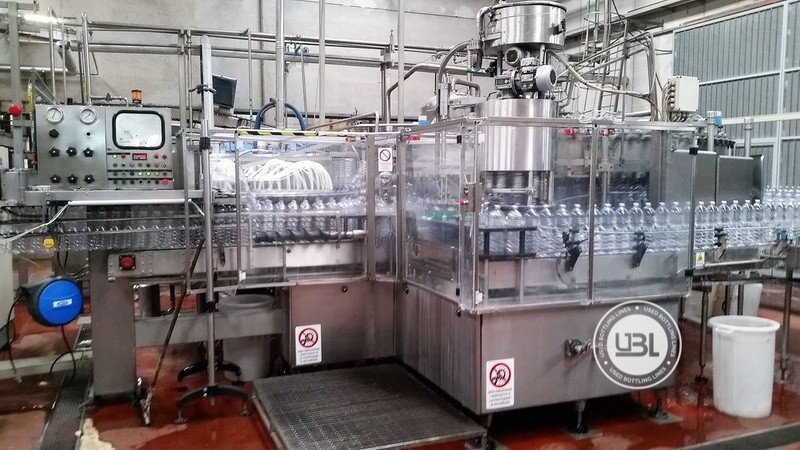 Used Complete PET Line for Water 18000 bph - 8