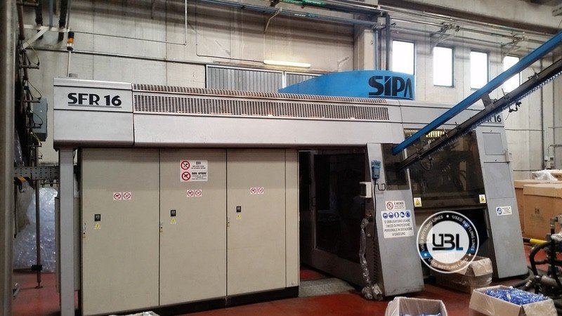 Used Complete PET Line for Water 18000 bph - 9