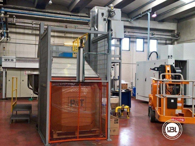 Used Blow Molding Machine Sipa SFR 16 - 3
