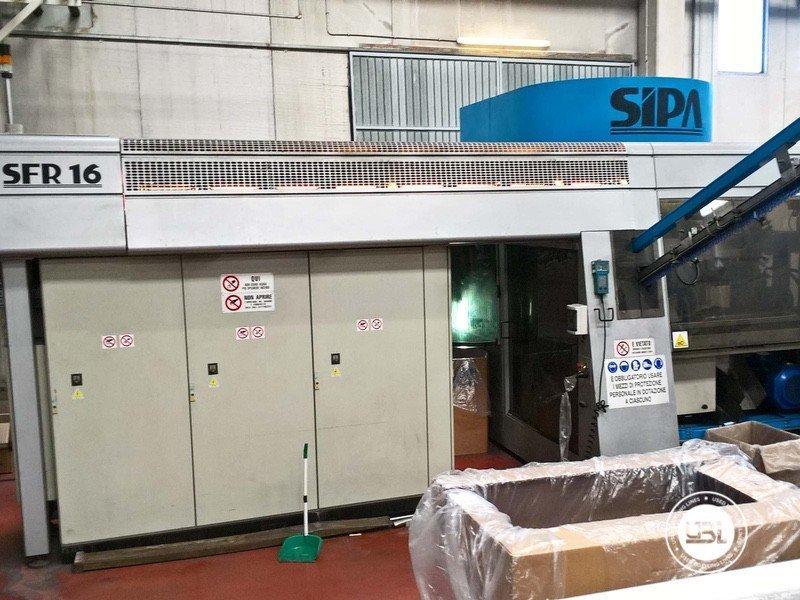 PET-Blasmaschine Sipa SFR 16 - 4