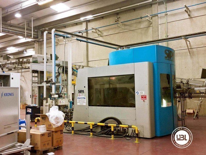 Used Blow Molding Machine Sipa SFR 16 - 7