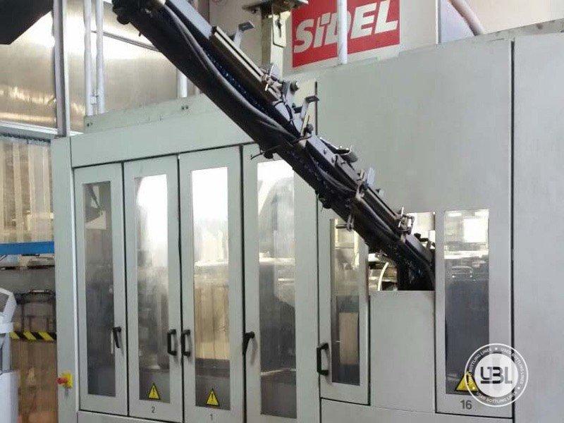 Blow moulding machine Sidel SBO 12 Series 2 16000bph Year 2002