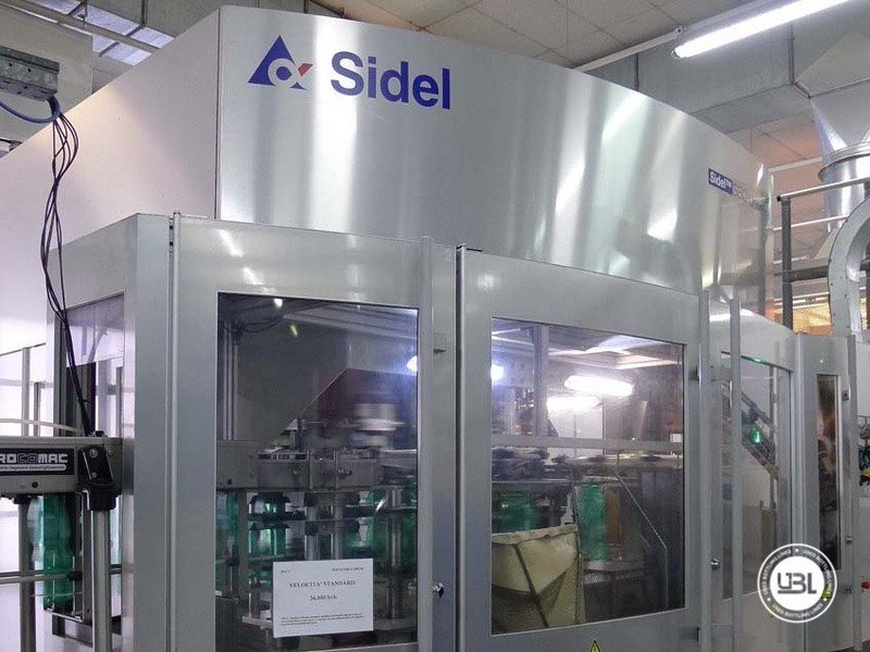 PET-Blasmaschine Sidel SBO 20 - 10