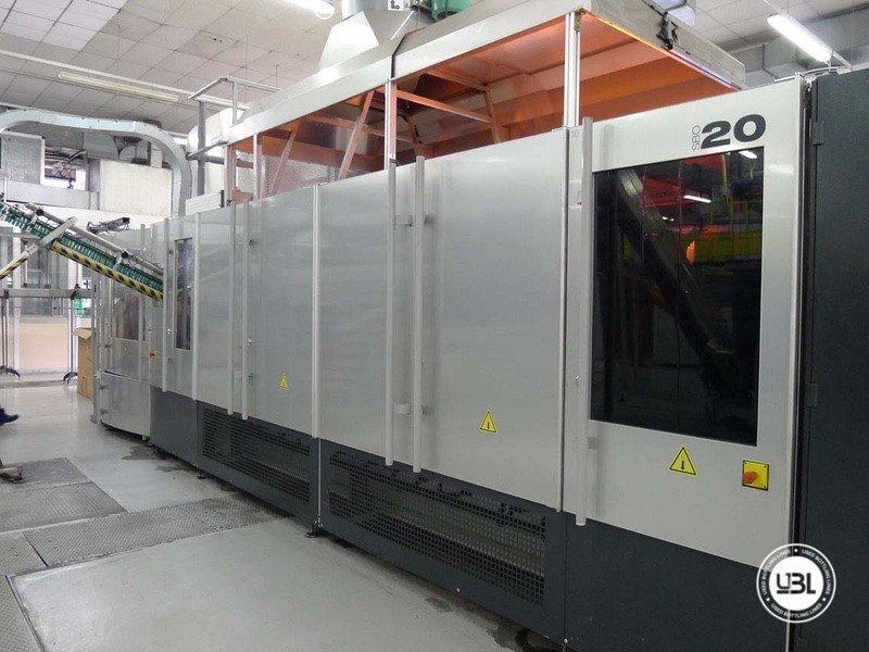 PET-Blasmaschine Sidel SBO 20 - 2