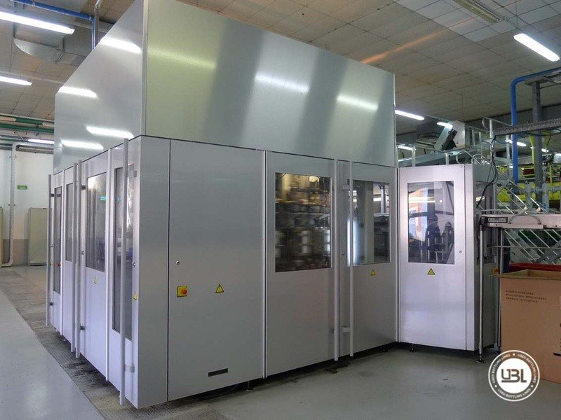 Used Blow Molding Machine Sidel SBO 20 - 7