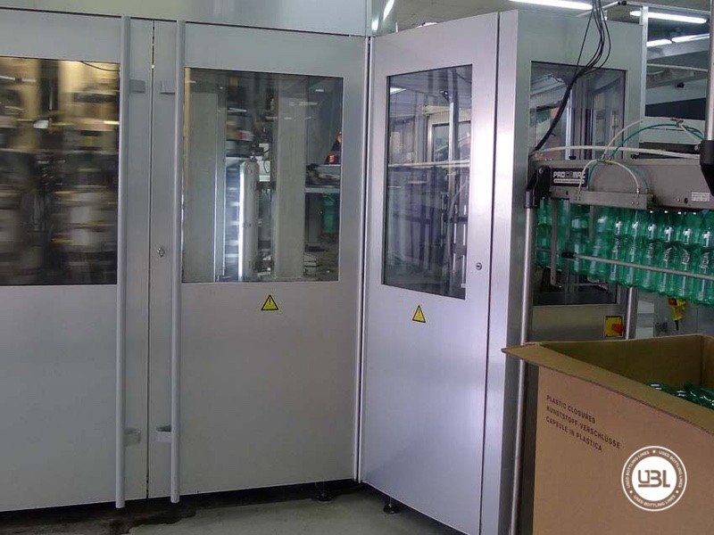 PET-Blasmaschine Sidel SBO 20 - 8