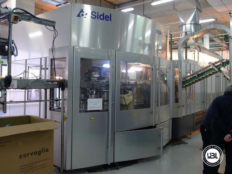 Used Blow Molding Machine Sidel SBO 20 - 9
