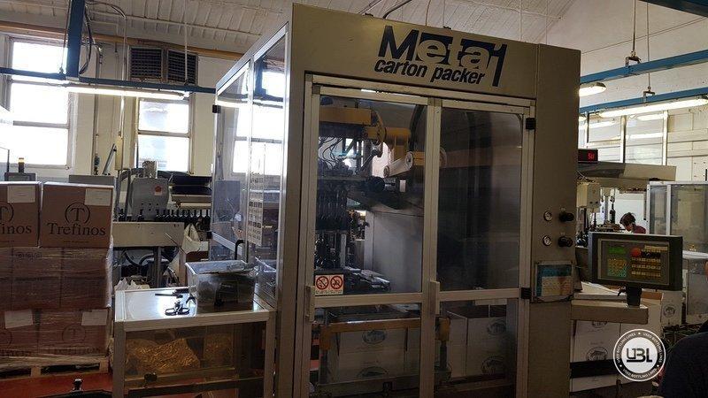 Used Case Packer TMG META 1 - 2
