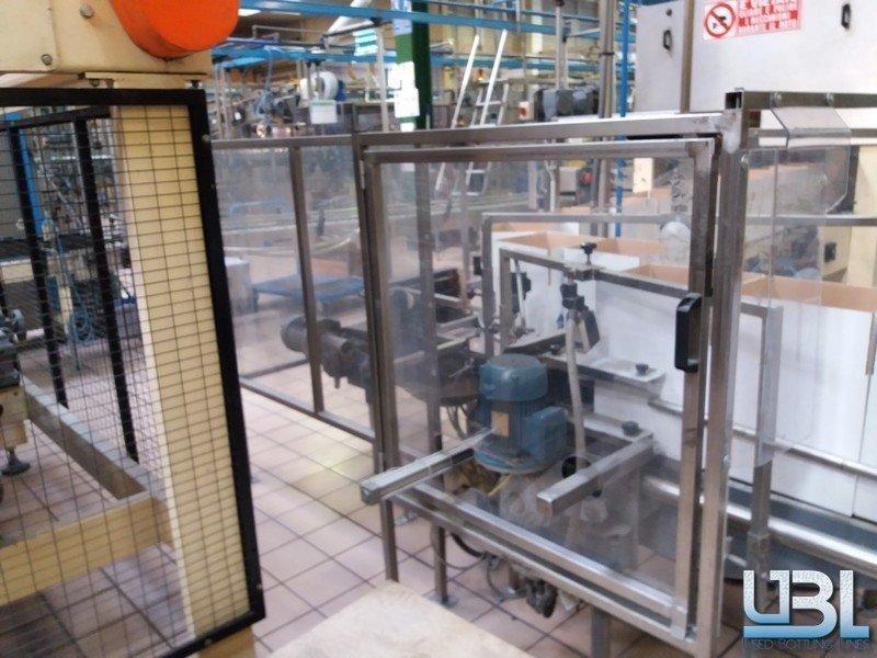 Stretchwickelmaschine Robopac PALLET STRETCH WRAPPER ROBOPAC ROTOPLAT 2000 & PALLETTIZER ZECCHETTI P.50.B - 1
