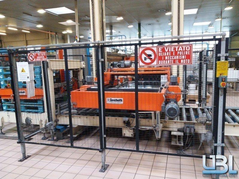 Stretchwickelmaschine Robopac PALLET STRETCH WRAPPER ROBOPAC ROTOPLAT 2000 & PALLETTIZER ZECCHETTI P.50.B - 3