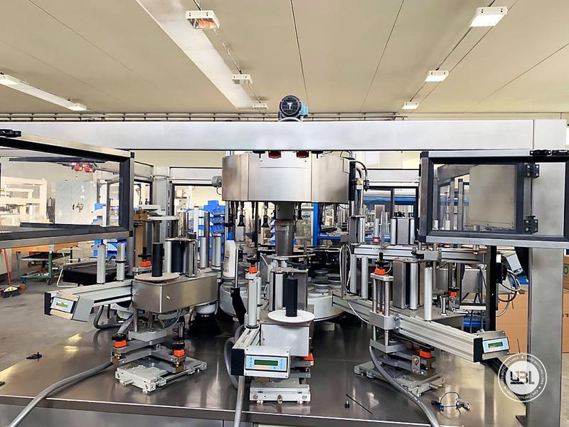 Used Bottle Labeler P.E. Labellers 12T 5S 10000 bph year 2018 - 2