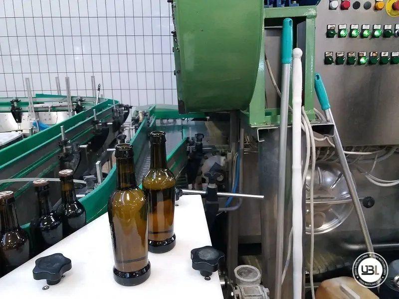 Komplette Glasflasche Abfüllanlage für Bier, Schaumwein, Stillwein - 32