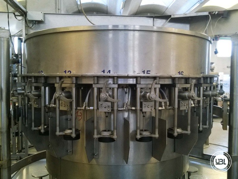 Used Isabaric Complete Glass Line for Beer, Sparkling Wine, Still Wine 2200 bph - 11