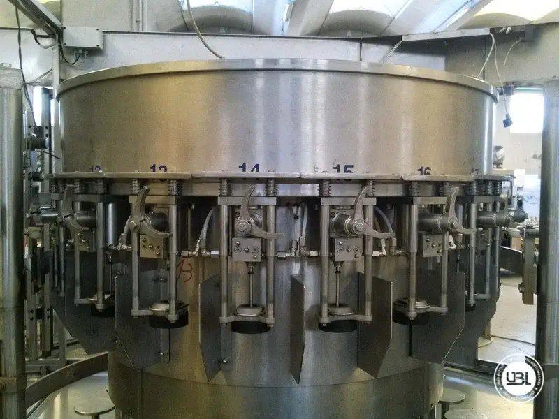 Komplette Glasflasche Abfüllanlage für Bier, Schaumwein, Stillwein - 11