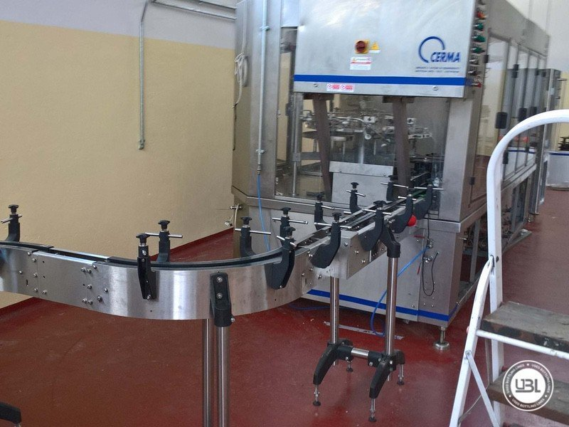 Used Isabaric Complete Glass Line for Beer, Sparkling Wine, Still Wine 2200 bph - 13