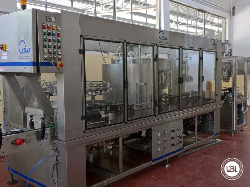 Used Isabaric Complete Glass Line for Beer, Sparkling Wine, Still Wine 2200 bph - 14