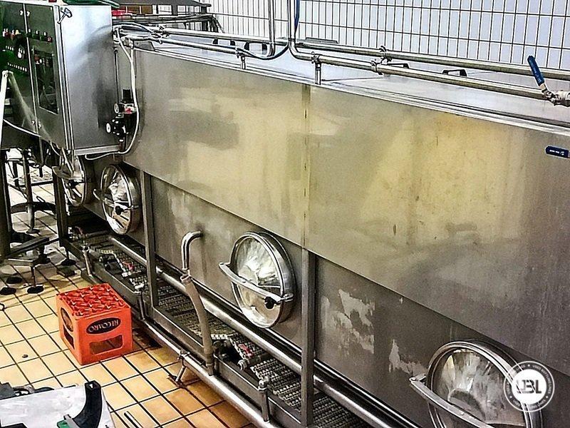 Komplette Glasflasche Abfüllanlage für Bier, Schaumwein, Stillwein - 17