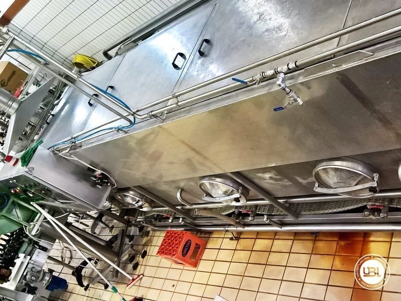 Used Isabaric Complete Glass Line for Beer, Sparkling Wine, Still Wine 2200 bph - 19