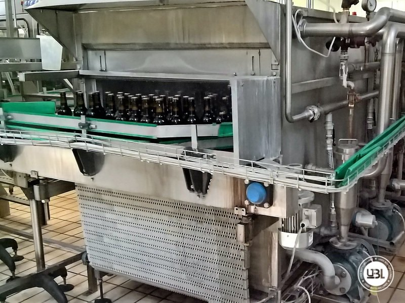 Komplette Glasflasche Abfüllanlage für Bier, Schaumwein, Stillwein - 21