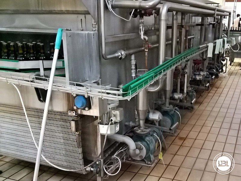 Used Isabaric Complete Glass Line for Beer, Sparkling Wine, Still Wine 2200 bph - 22