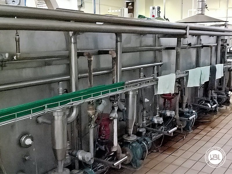Used Isabaric Complete Glass Line for Beer, Sparkling Wine, Still Wine 2200 bph - 23