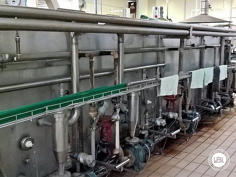 Komplette Glasflasche Abfüllanlage für Bier, Schaumwein, Stillwein - 23