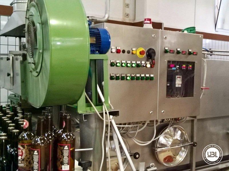 Komplette Glasflasche Abfüllanlage für Bier, Schaumwein, Stillwein - 25