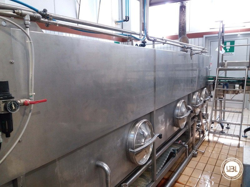Used Isabaric Complete Glass Line for Beer, Sparkling Wine, Still Wine 2200 bph - 28