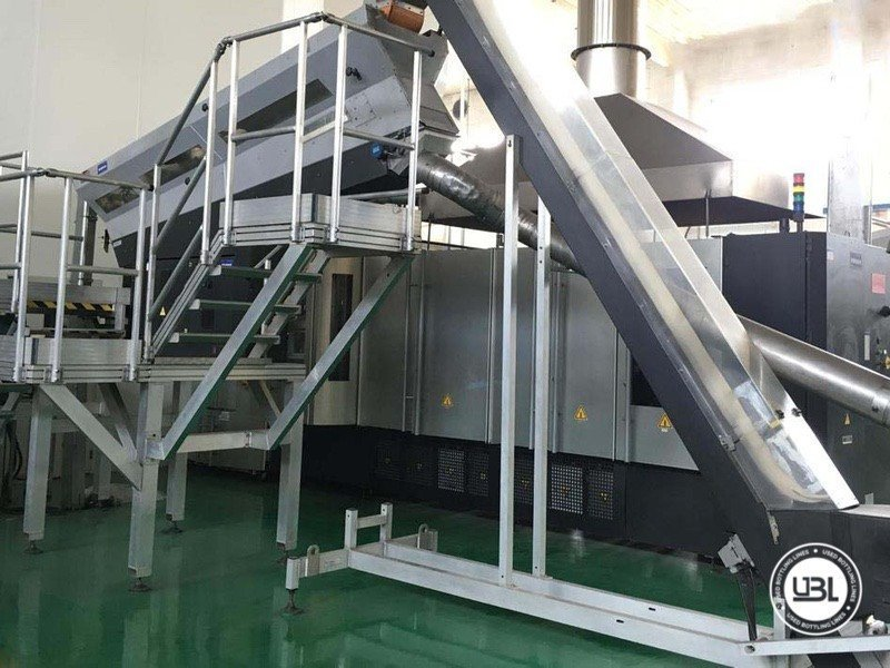 Used Complete PET Line for Water 25200 bph - 2