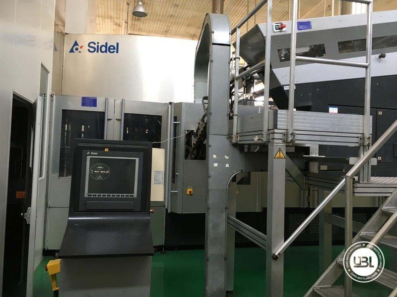 Sidel Complete Combi PET line for Water 25200 bph 2006