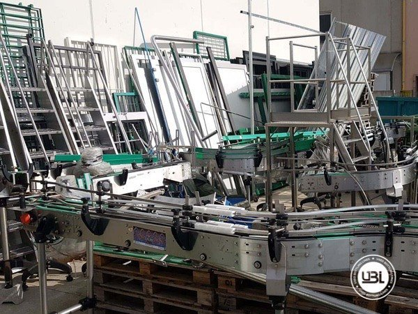 Used Isabaric Complete Glass Line for Beer, Sparkling Wine, Still Wine 2200 bph - 27