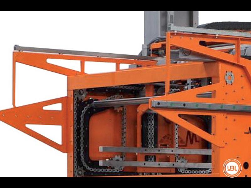 Used Automatic Palletizer Mondo & Scaglione Automatic P6 45/60 cpm year 2010 - 2