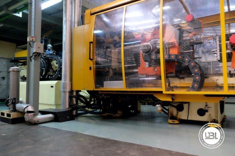 Used Injection Molding Machine Husky INDEX 250 QUAD 60 - 3