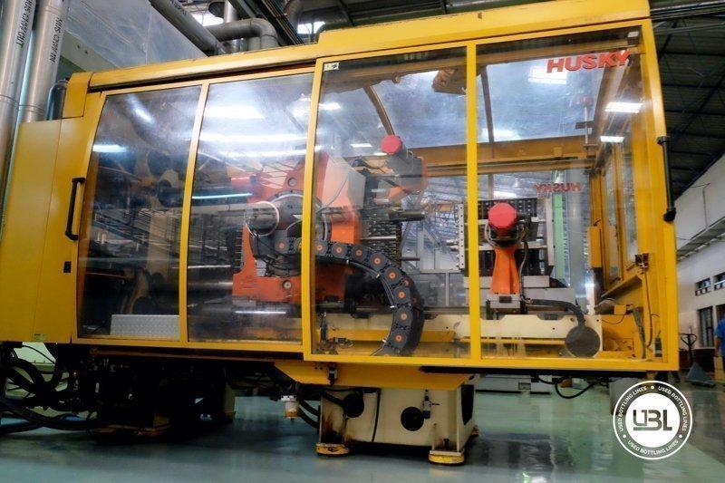 Used Injection Molding Machine Husky INDEX 250 QUAD 60 - 4