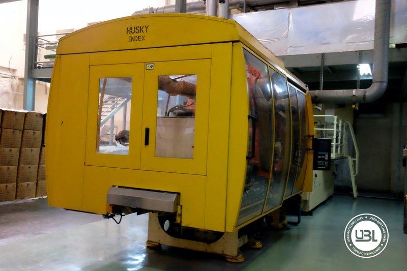 Used Injection Molding Machine Husky INDEX 250 QUAD 60 - 6
