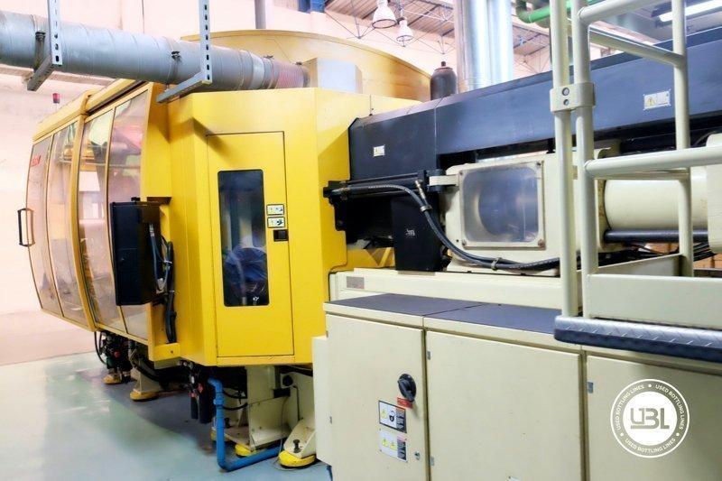 Used Injection Molding Machine Husky INDEX 250 QUAD 60 - 7