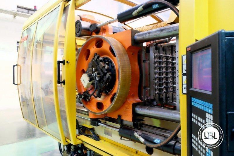 Used Injection Molding Machine Husky INDEX 250 QUAD 60 - 8