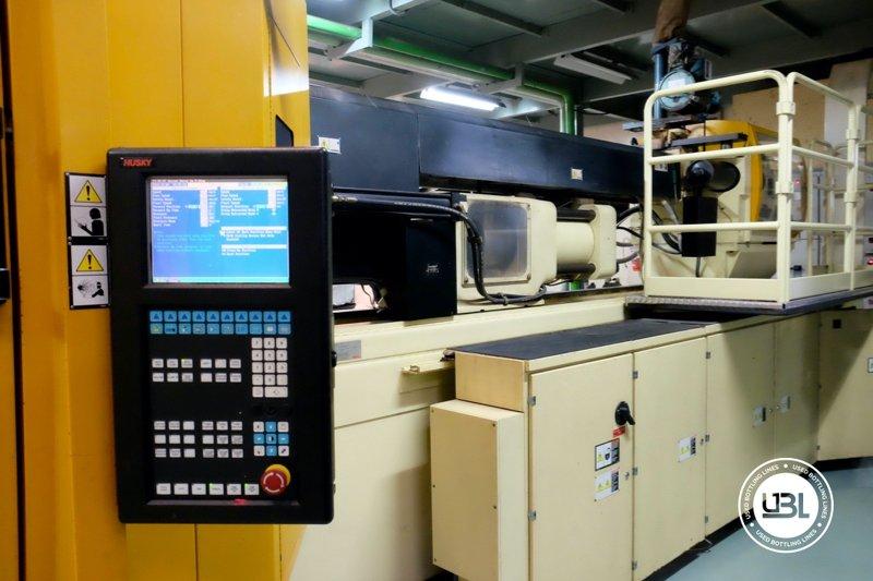 Used Injection Molding Machine Husky INDEX 250 QUAD 60 - 9