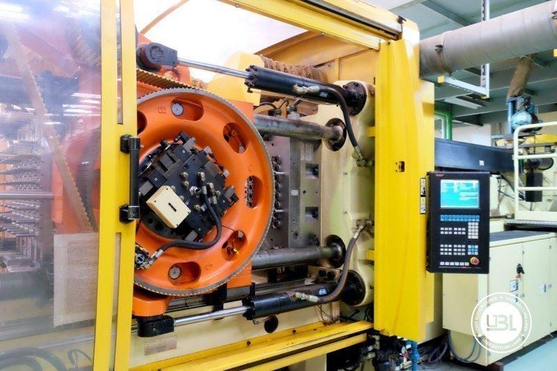 Used Injection Molding Machine Husky INDEX 250 QUAD 60 - 10