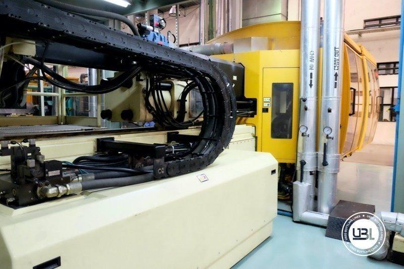 Used Injection Molding Machine Husky INDEX 250 QUAD 60 - 11