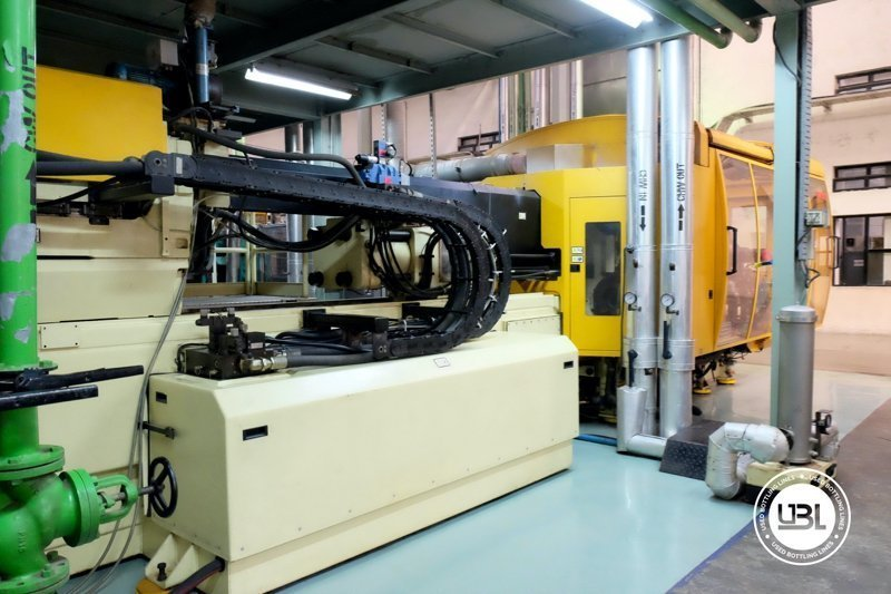 Used Injection Molding Machine Husky INDEX 250 QUAD 60 - 12