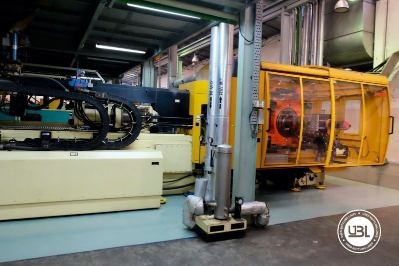 Used Injection Molding Machine Husky INDEX 250 QUAD 60 - 13