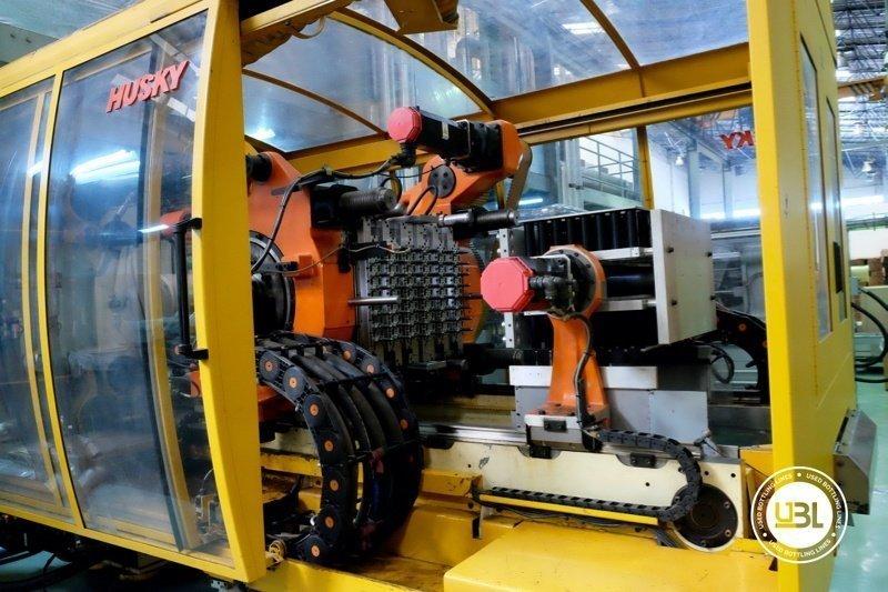 Used Injection Molding Machine Husky INDEX 250 QUAD 60 - 15
