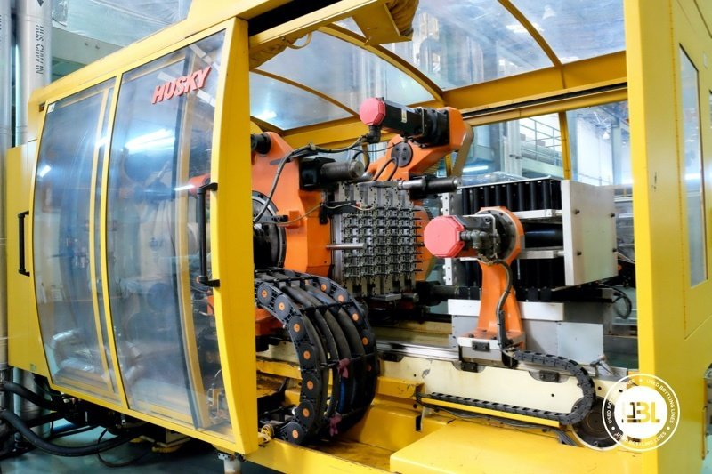 Used Injection Molding Machine Husky INDEX 250 QUAD 60 - 1