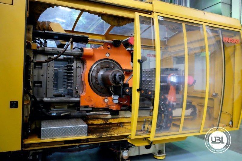 Used Injection Molding Machine Husky INDEX 250 QUAD 60 - 16