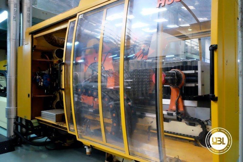 Used Injection Molding Machine Husky INDEX 250 QUAD 60 - 17