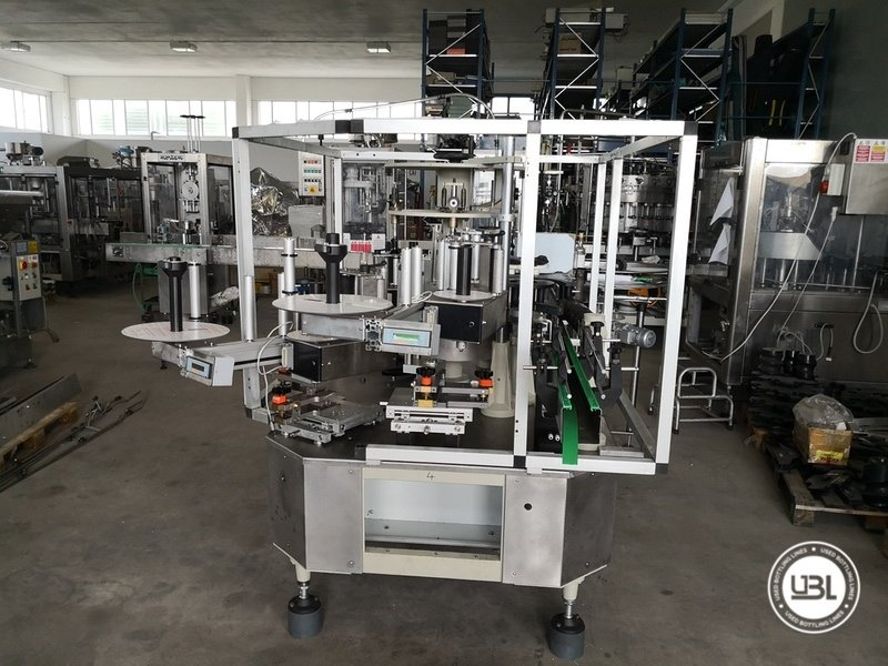 Used Isobaric Complete Glass Line for Sparkling Wine, Spumante, Still Wine 2500 bph - 1