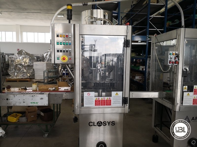 Used Isobaric Complete Glass Line for Sparkling Wine, Spumante, Still Wine 2500 bph - 11