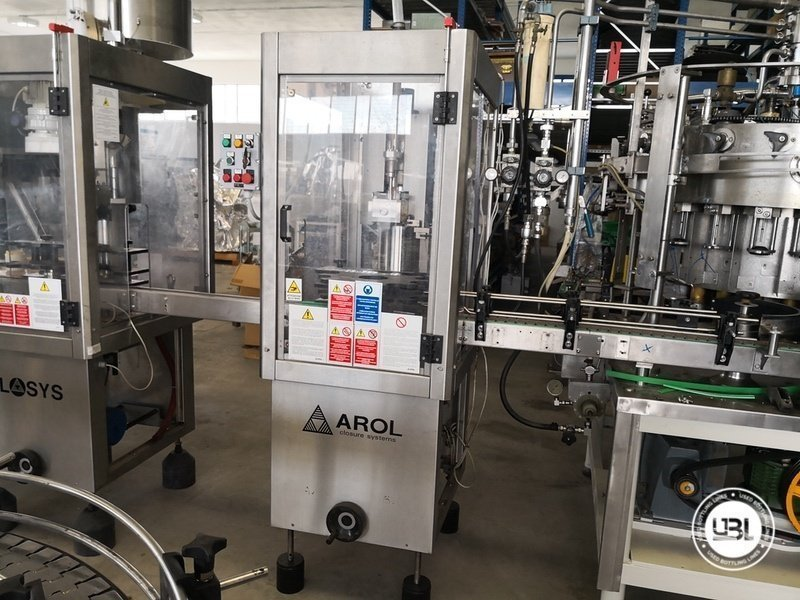 Used Isobaric Complete Glass Line for Sparkling Wine, Spumante, Still Wine 2500 bph - 14